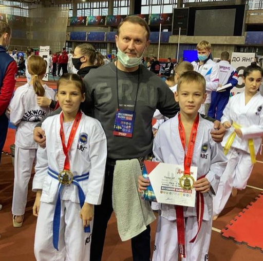 28 медалей завоевали спортсмены из Люберец на турнире по тхэквондо