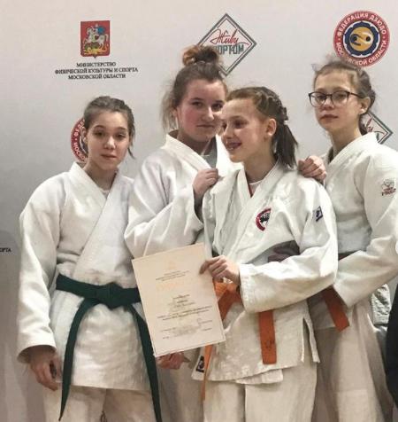 Спортсменка из Люберец завоевала серебро на областном первенстве по дзюдо
