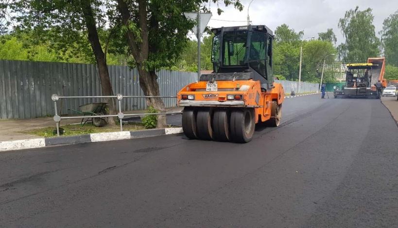 Почти 30 городских дорог отремонтировали в Люберцах
