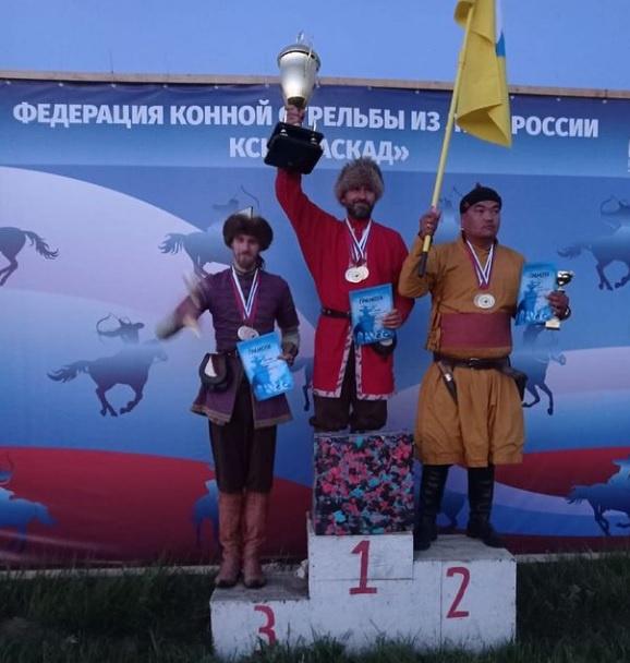 Спортсмен Люберец завоевал третье место в конной стрельбе из лука